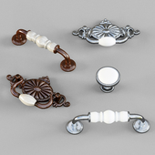 KITCHEN CUPBOARD CABINET DOOR HANDLES & KNOBS set 4