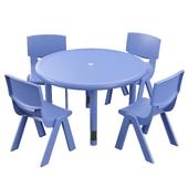 Hafner 5 Piece Circular Activity Table
