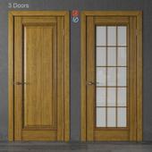 Wooden doors of Academy Piemonte (part 1)