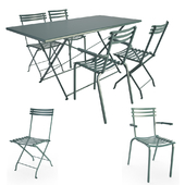 Foldy Metallic Outdoor Furniture