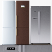 Set of refrigerators BOSCH 2