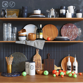 Decorative set for the kitchen 2