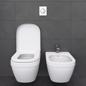 Toilet and Bidet 01