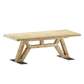 Old beam wooden table - Flying Dutchman Oldwood