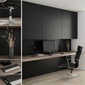 Office furniture black