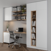 Home office white