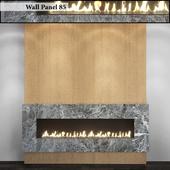 Wall Panel 85. Fireplace