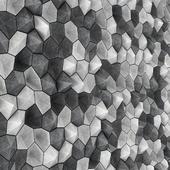 Панель бетонная из многоугольников / Ngon concrete  panel