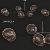 Nyla 6-Light Sputnik Linear Chandelier