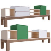 Aparador Container Sideboard Console Table