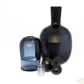 Vases H&M and L'Appartement