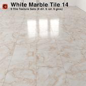 White Marble Tiles - 14