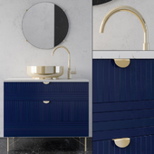 bathroom furniture ikea Blue