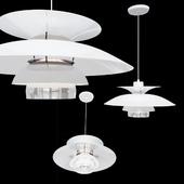 Подвесной светильник Poul Henningsen PH5 Classic White Pendant Lamp