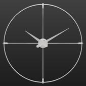 Настенные часы в стиле лофт Omnus