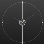 Настенные часы в стиле лофт, модель Unum