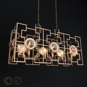 Подвесная люстра Crystal Lux Cuento SP8 L900 Gold