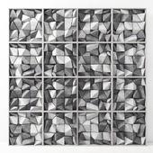 Панель бетонная из угловых блоков / Panel cocnrete Angle Block