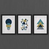 Geometric abstract set