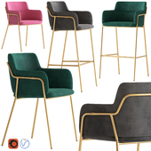 Cult Furniture Harriet Chair and Stool