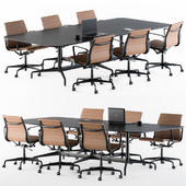 Meeting Table with office chair