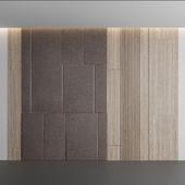 Leather Wood Panel