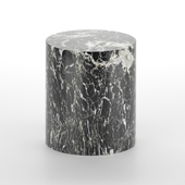 Monolith Side Table (marble) by Kelly Wearstler