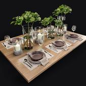 Сервировка стола. Table setting