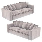 Sofa with pillows Loft designe 2966