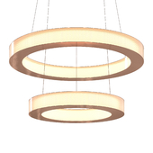 Imatra 2 tiers Suspended Lamp by Cameron Design House