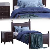Angel single bed (variant 2)