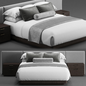 Bed for hotel room 2100 x 1800