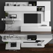 Tv stand set 078