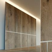 Стеновая панель из дерева. Декоративная стена. 36