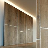 Стеновая панель из дерева. Декоративная стена. 37