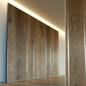 Стеновая панель из дерева. Декоративная стена. 39