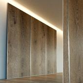 Стеновая панель из дерева. Декоративная стена. 41