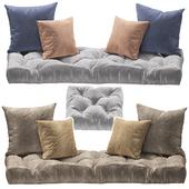 Seat pillow set 3