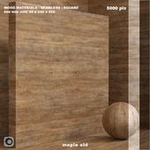 Материал дерево / клен старый (бесшовный) - set 78