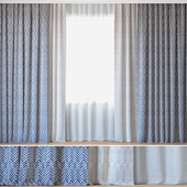 Curtains 101   Curtains with Tulle   Bella Dura   Skye Tweed