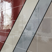 Ceramic wall tile EQUIPE HABITAT 10 colors