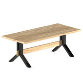 oak table - Harlem, old oak Oldwood