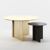 OS tables set 2 by Atelier de Troupe