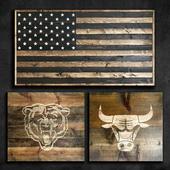 Wooden panel 99