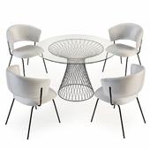 Portello Chair and Lexington Table