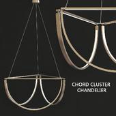 Chord cluster chandelier