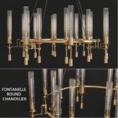 Fontanelle round chandelier