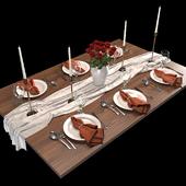 Table setting 01. Table setting 01