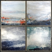 Paintings abstract | set 446