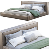 Queen Loft Leather Bed 2